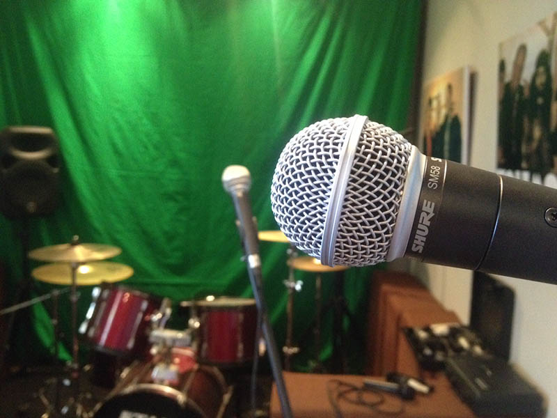 We've got some Shure SM58 mics, so your vocals are covered and you will sound aswesome.
