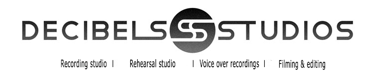Recording,  band practice / rehearsal space, voice overs, drum lessons, filming, video editing,