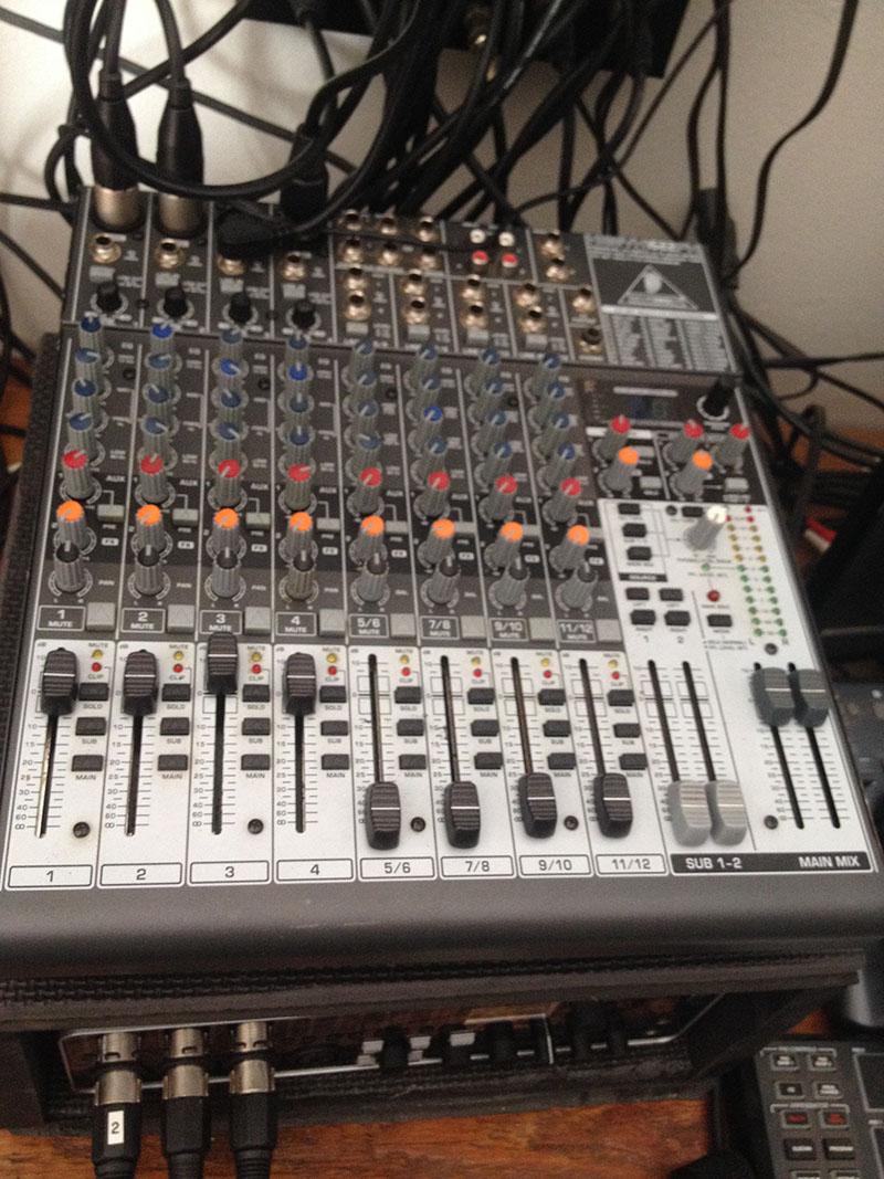 Behriner Xenyx 1622FX mixer
