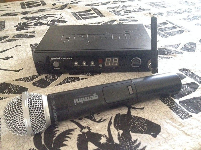 Gemini wireless microphone